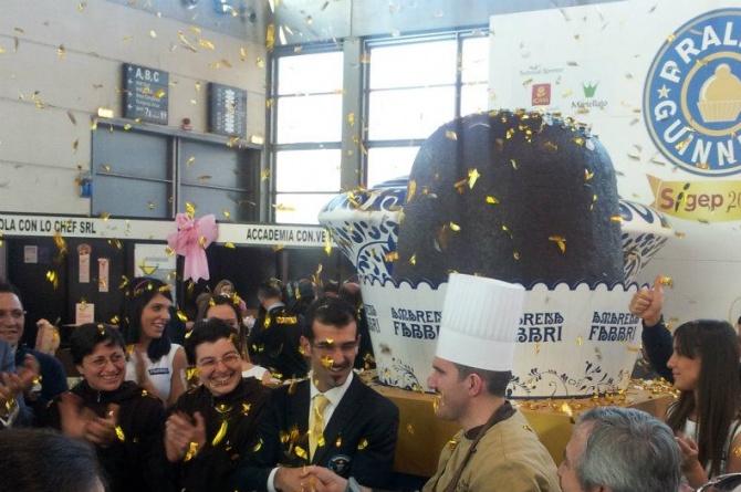 Al Sigep il cioccolatino più grande del mondo
