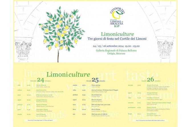 Dal 24 al 26 settembre Siracusa festeggia il suo limone con Limoniculture