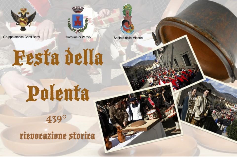 """Il 22 febbraio a Vernio si festeggia la storica """"Festa della polenta"""""""