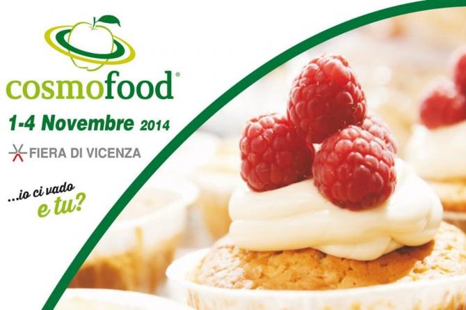 Dall'1 al 4 novembre a Vicenza la seconda edizione di Cosmofood