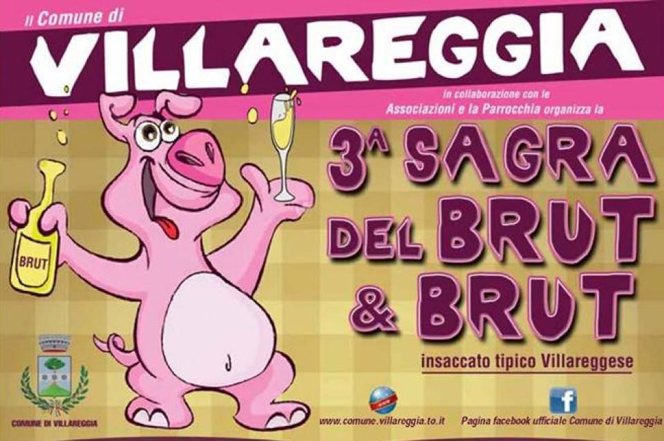 """Il 28 febbraio e l'1 marzo a Villareggia torna la """"Sagra del Brut & Brut"""""""