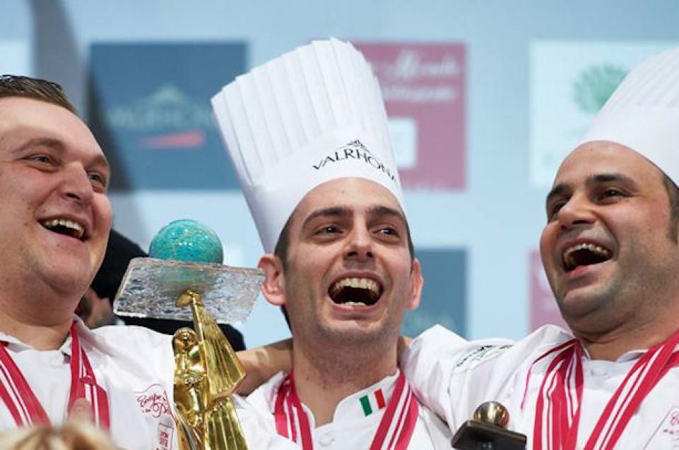 """I  vincitori italiani de la """"Coupe du Monde de la Pâtisserie"""" si raccontano a """"Identità Golose"""""""