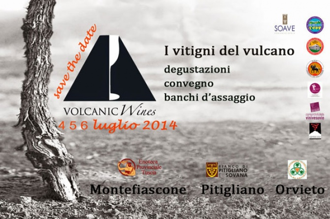 Volcanic Wines: dal 4 al 6 luglio esplode il gusto del vino dei territori vulcanici