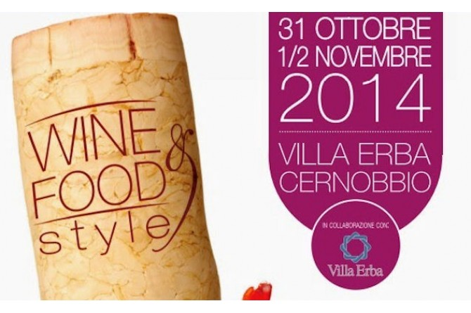 Wine&Food Style: sul Lago di Como una mostra mercato dedicato all'enogastronomia italiana