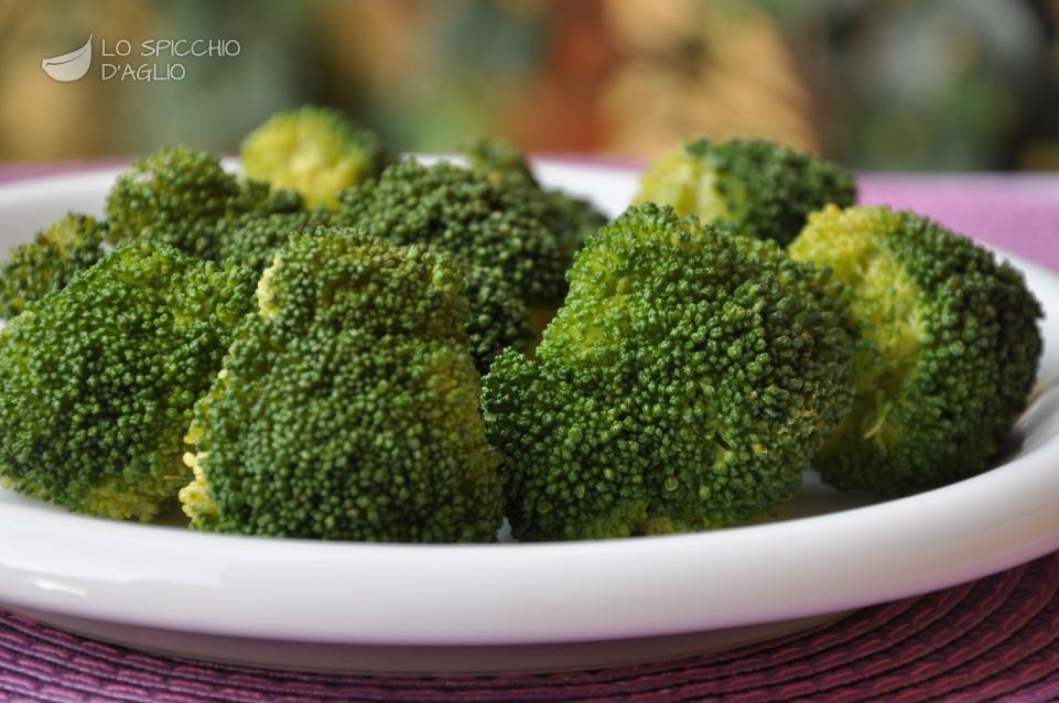 Broccoli a vapore