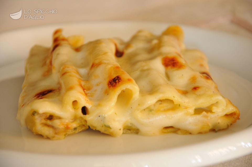 Cannelloni patate e porcini