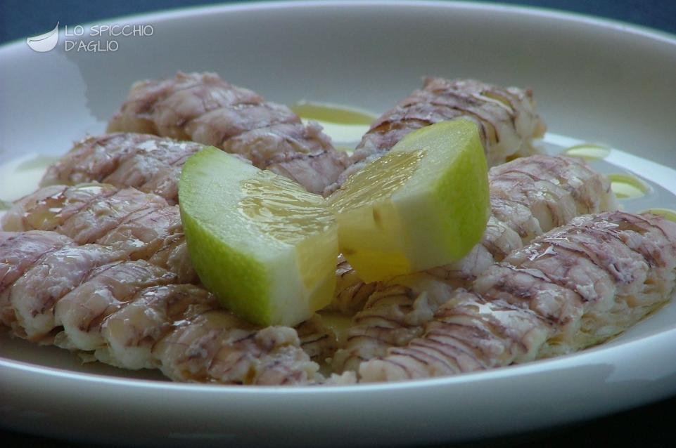 Ricetta canocchie al limone le ricette dello spicchio for Cucinare per 50