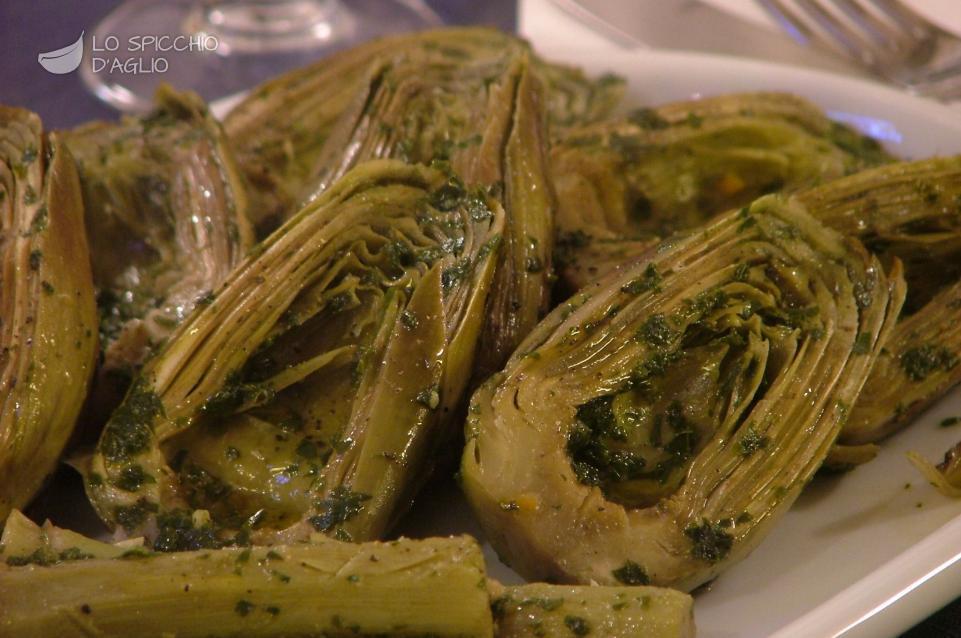 Ricetta carciofi in padella le ricette dello spicchio for Ricette con carciofi