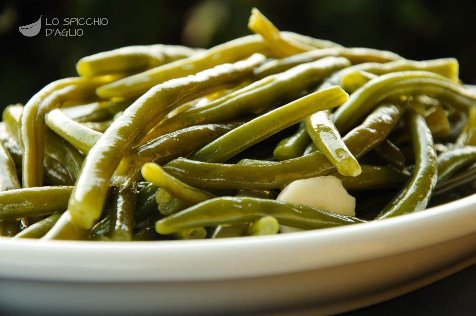 Fagiolini aglio e olio