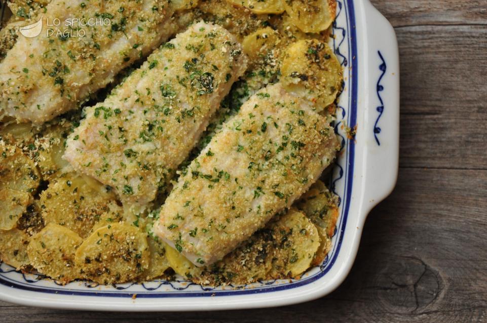 Merluzzo al forno con patate