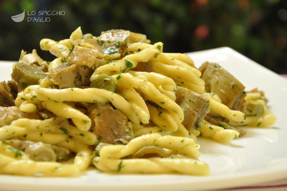 Bavette ai carciofi mangia sano e buono for Carciofi ricette