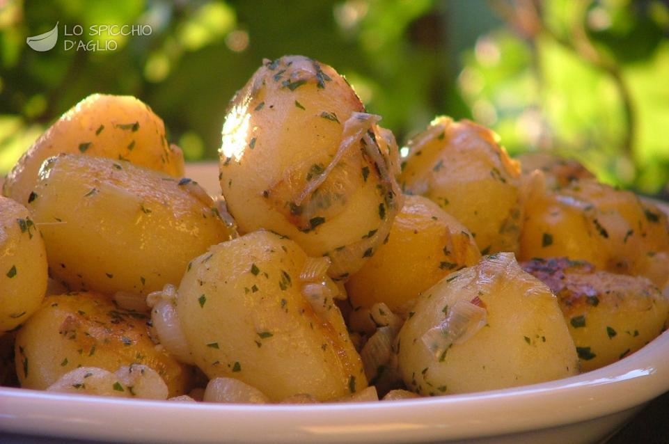 Patate alle acciughe