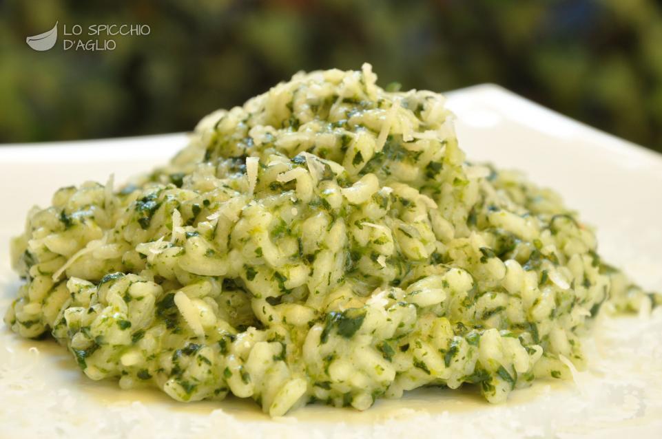 ricetta risotto agli spinaci le ricette dello spicchio