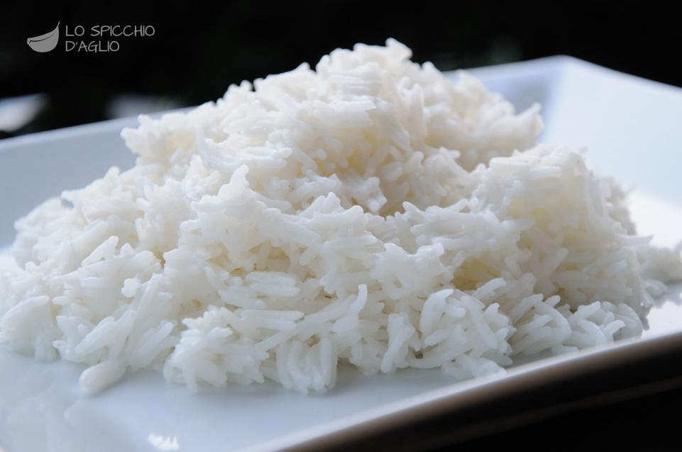 Ricetta riso al vapore le ricette dello spicchio d 39 aglio - Cucina a vapore ricette ...