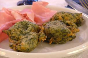 Frittelle agli spinaci