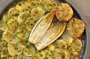 Misto di verdure gratinate