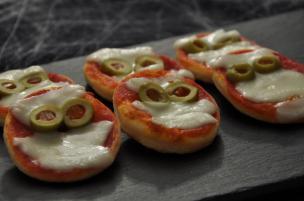 Pizzette mummiette di Halloween
