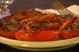 Pomodori alla brace