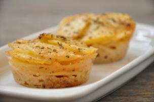 Tortini di patate al formaggio