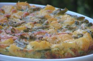 Tortino patate e fagiolini