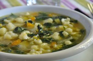 Zuppa di verdure autunnali