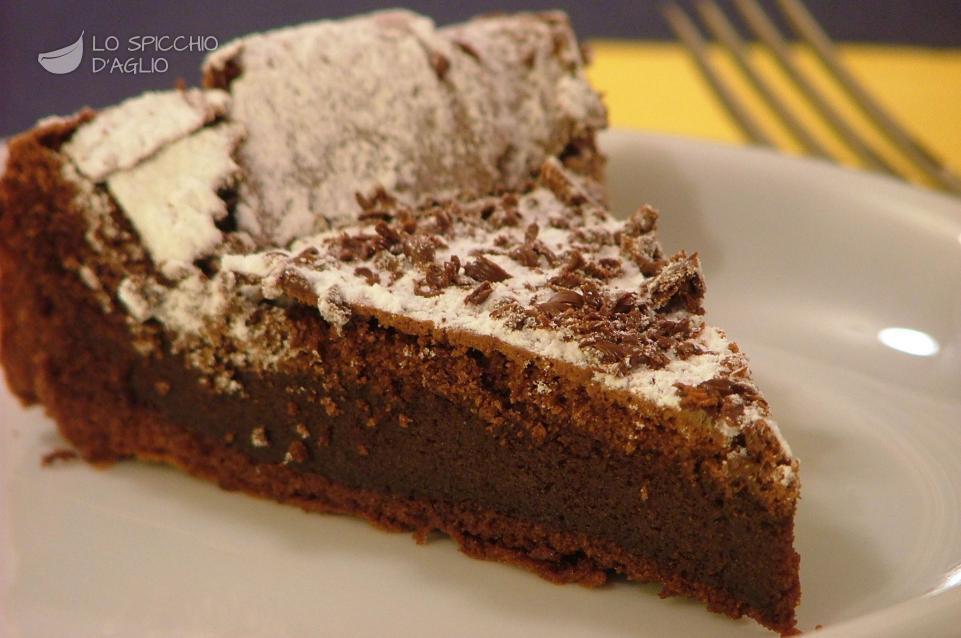 ricetta torta fondente al cioccolato le ricette dello