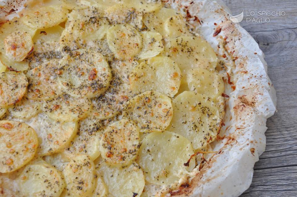 Tortino di patate ai formaggi
