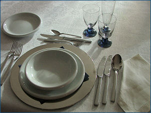 La tavola - Posizione posate a tavola ...